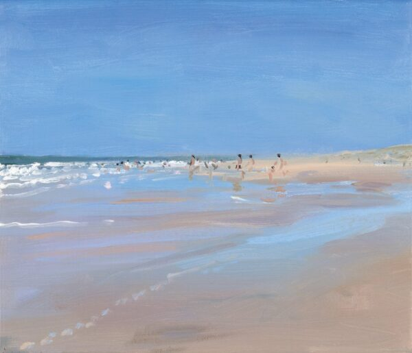 Bathers - Signed Limited Edition Print By Andrew Macara