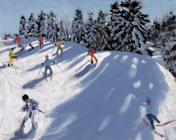 Fresh Snow - Signed Limited Edition Print By Andrew Macara