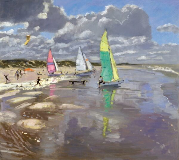 Sail Boats - Signed Limited Edition Print By Andrew Macara