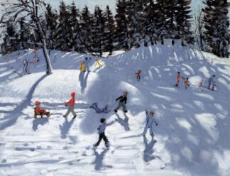 Winter Fun - Signed Limited Edition Print By Andrew Macara