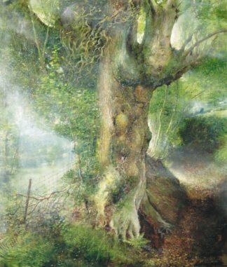 The Signing Tree - Signed Limited Edition Print by Crispin thornton Jones