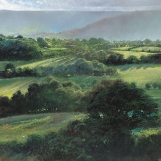 View From Fair Oak - Signed Limited Edition Print by Crispin thornton Jones