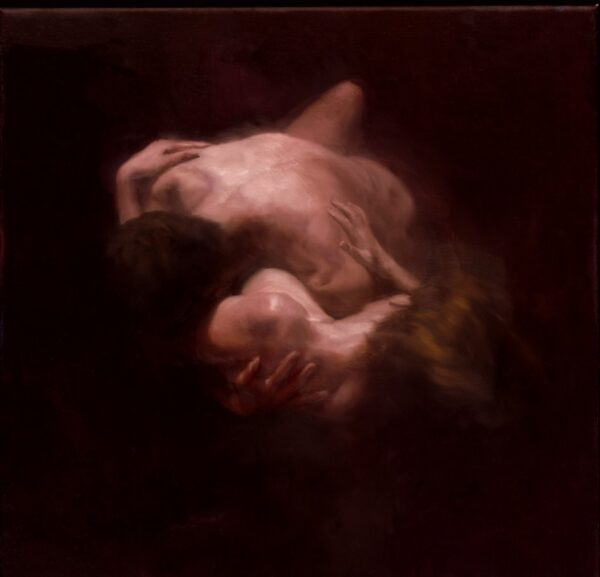 Lovers I - Signed Limited Edition By David Knight