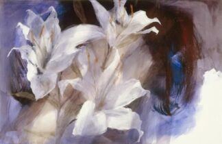 Lilies paper by Christine Comyn