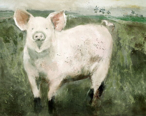 Trotters - Signed Limited Edition Print By Madeline Floyd