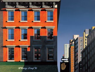 Curry Leaf, Lexington Avenue - Signed Limited Edition Print By Michael Kidd