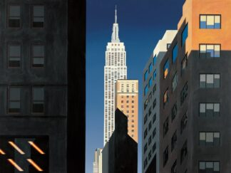 Evening Light, 5th Avenue - Signed Limited Edition Print By Michael Kidd