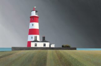 Happisburgh - Signed Limited Edition Print By Michael Kidd