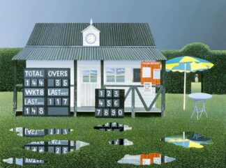 Rain Stops Play - Signed Limited Edition Print By Michael Kidd