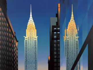The Chrysler Building - Signed Limited Edition Print By Michael Kidd