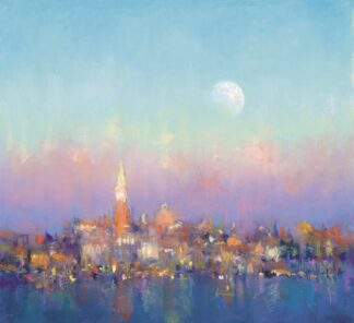 first Light Venice - Signed Limited Edition Print by Norman Smith