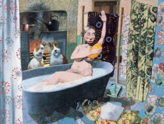 A Bit Of Privacy - Signed Limited Edition Print By Richard Adams