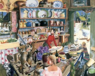 Farmhouse Kitchen - Signed Limited Edition Print By Richard Adams