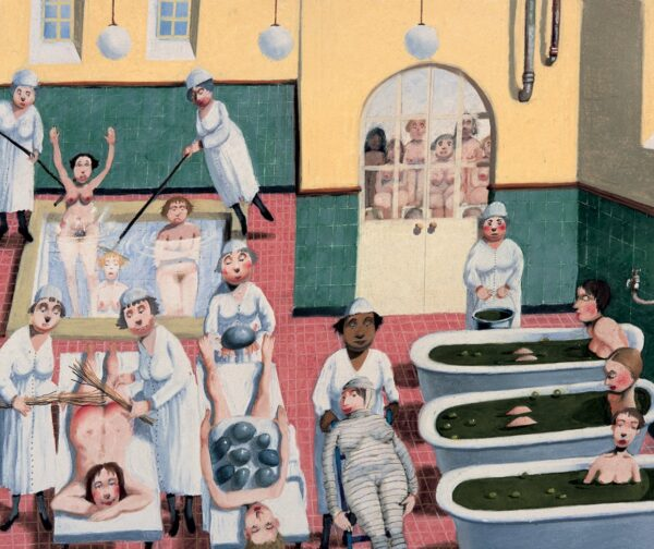 Taking The Cure - Signed Limited Edition Print By Richard Adams