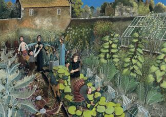 The Kitchen Garden - Signed Limited Edition Print By Richard Adams
