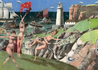 the Lighthouse Keepers Daughters - Signed Limited Edition Print By Richard Adams