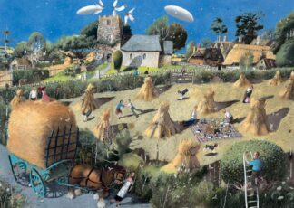 the Summer Wore on - Signed Limited Edition Print By Richard Adams