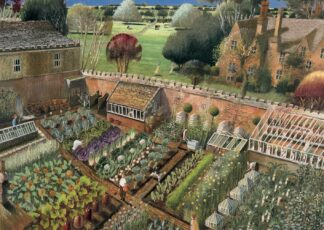 the Vegetable Garden - Signed Limited Edition Print By Richard Adams