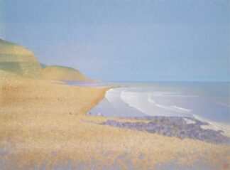 Golden coast, Hastings - Signed Limited Edition Print By Robert Hurdle