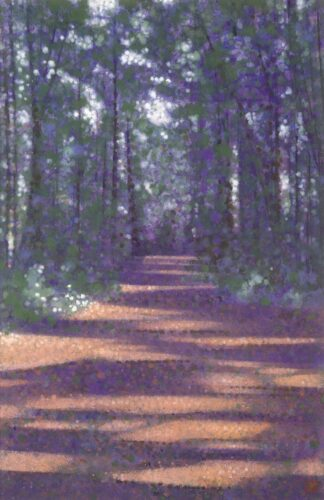 Towering Pines - Signed Limited Edition Print By Robert Hurdle
