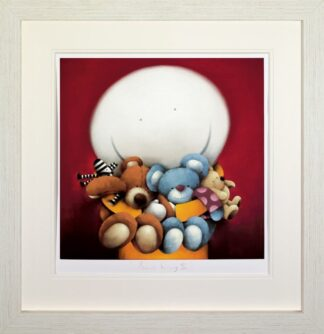 Bear Hug II (Deluxe) By Doug Hyde Signed Limited Edition Boxed Canvas Print