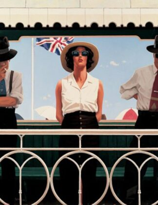 Bird On The Wire - Signed Limited Edition By Jack Vettriano - Paper And Mounted - Unframed