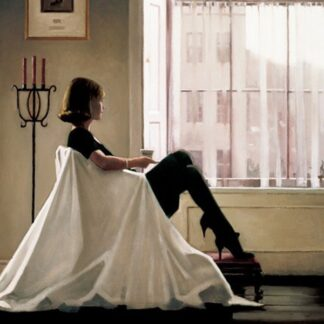 In Thoughts Of You By Jack Vettriano Signed Limited Edition Paper Print