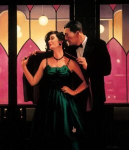 Words Of Wisdom By Jack Vettriano Signed Limited Edition Paper Print