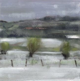 Late Snow - Signed Limited Edition Print By Catherine Binnie