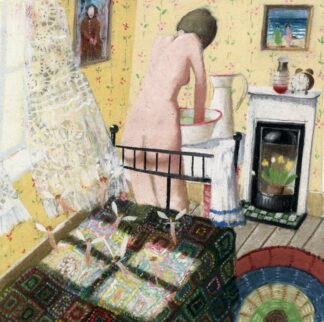 A Sunny Little room - Signed Limited Edition Print By Richard Adams