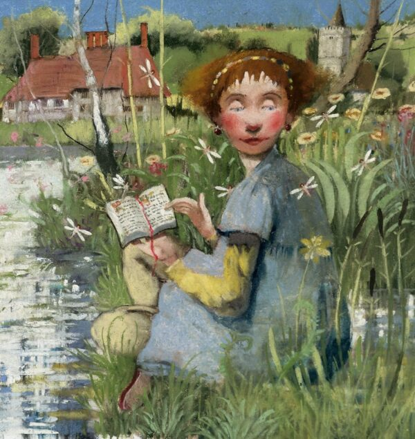 On The Bank - Signed Limited Edition Print By Richard Adams