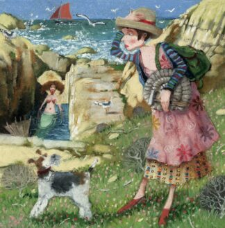 On The Rocks - Signed Limited Edition Print By Richard Adams