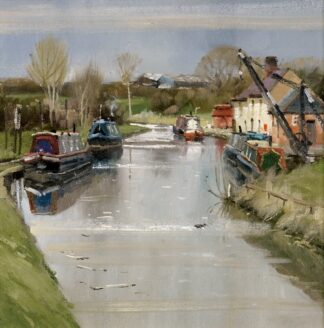 Coot Canal - Signed Limited Edition By John Lines