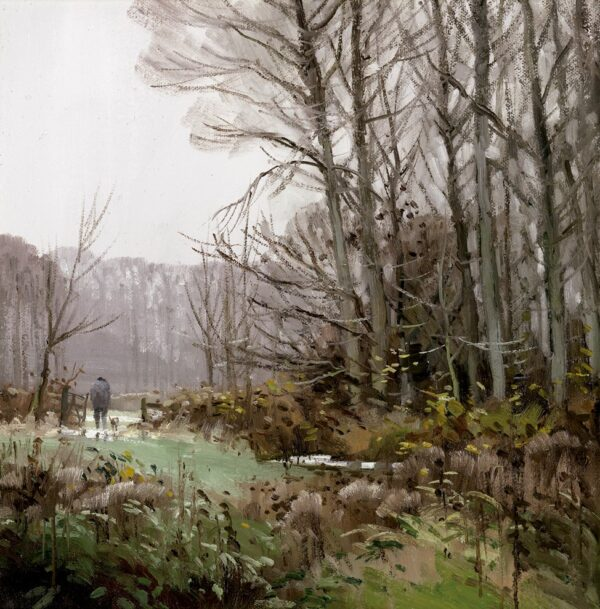 Woodside Walkers - Signed Limited Edition By John Lines