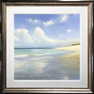 An English Paradise by Duncan Palmer framed