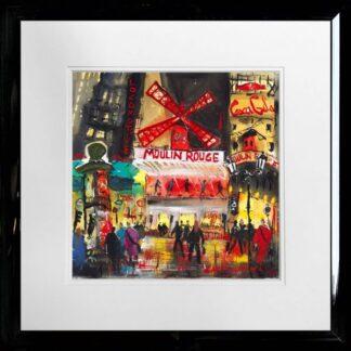 moulin rouge Carol Mountford framed