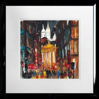 sacre coeur paris by carol mountford framed