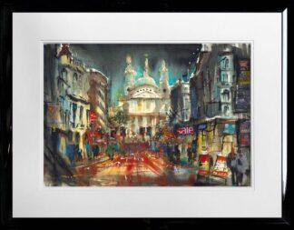 st pauls london by Carl Mountford Framed