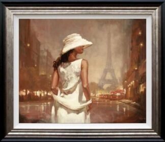 an evening in paris mark spain framed