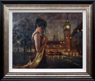 london nights mark spain framed