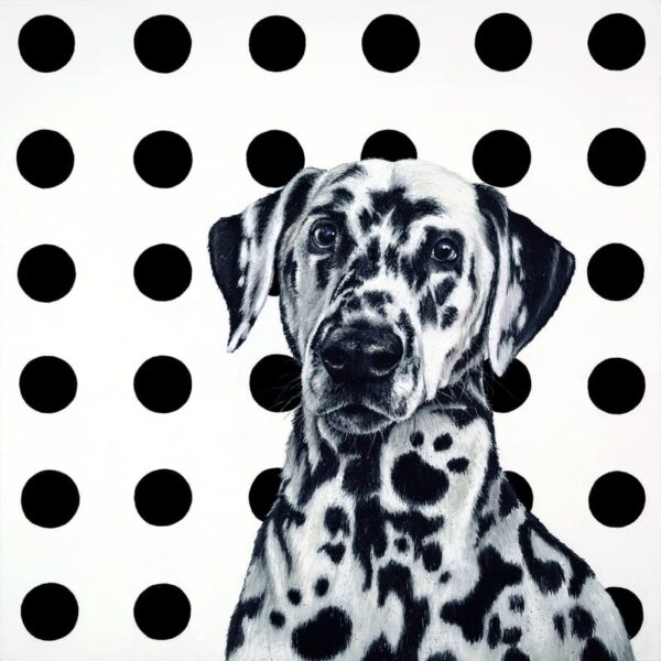 Spot The Dog - Signed Limited Edition Print By Hayley Goodhead - Paper And Mounted - Unframed