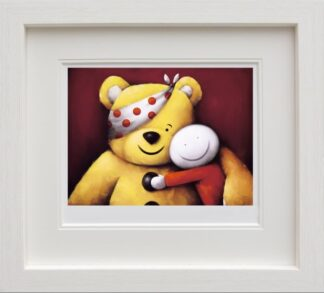 Pudsey By Doug Hyde Signed Limited Edition Paper Print Mounted And Framed