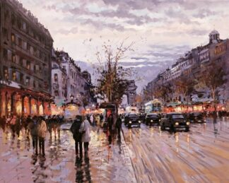 Romance in Paris By Henderson Cisz Signed Limited Edition