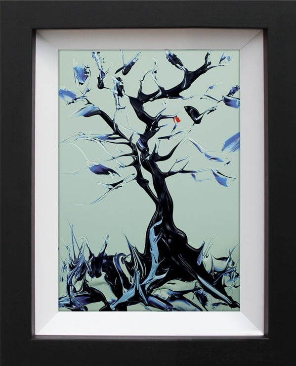 Ancient Knowledge II - Signed limited edition print by Duncan Macgregor - Paper mounted and Framed