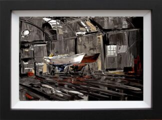 In for Repairs - Signed limited edition print by Duncan Macgregor - Paper mounted and Framed