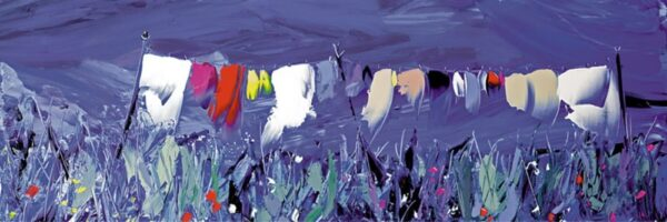 In The breeze - Signed Limited edition canvas print by Duncan MacGregor - Unframed