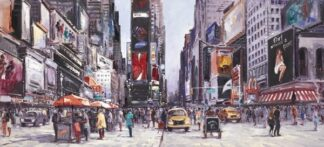 New York Central BY Henderson Cisz Signed limited Edition Print