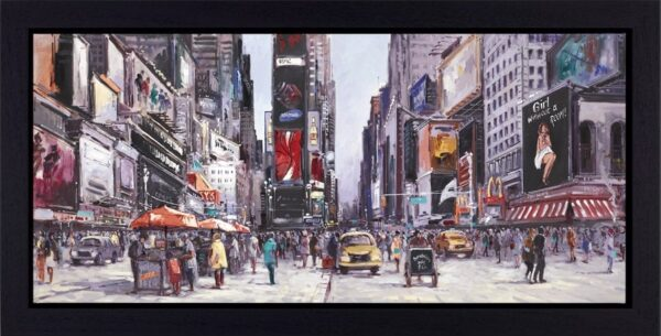 New York Central Signed Limited edition boxed canvas print by Henderson Cisz - Framed in the artists recommended frame