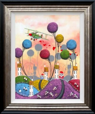 Taking Flight - signed limited edition print by dale bowen framed in the artists recommended frame