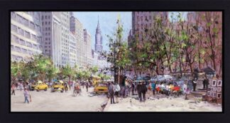Midtown view Signed Limited print by Henderson Cisz - Framed in the artists recommended frame